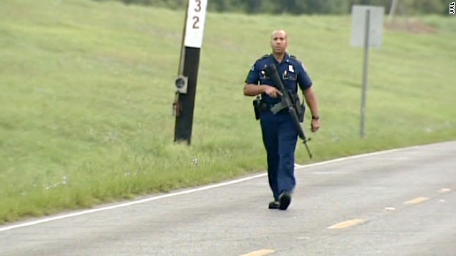 Two officers killed in Louisiana ambush