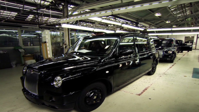 The making of the London black cab