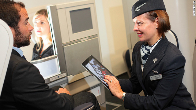 BA's Know Me customer service program allows airline staff to search Google for images of passengers on their iPads.