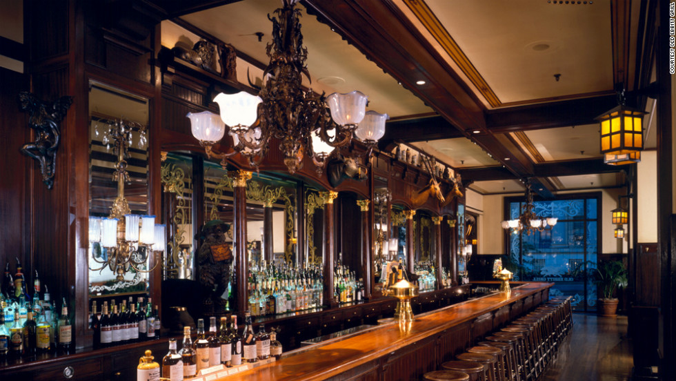 The Old Ebbitt Grill has been attracting presidents and beltway movers and shakers since its opening in 1856.
