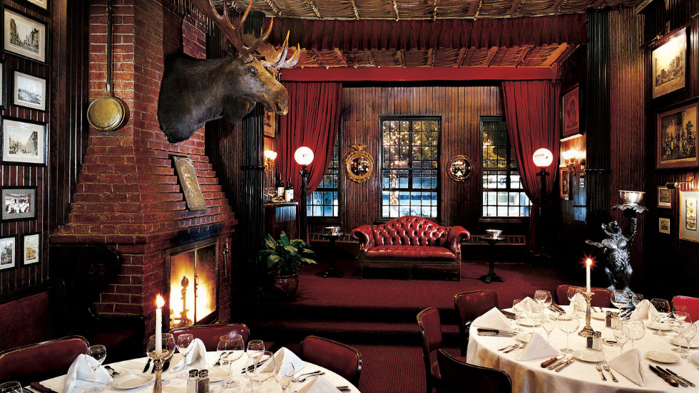 Albert Keen founded Keens Steakhouse in 1885 in what was then the Theater District, Herald Square.