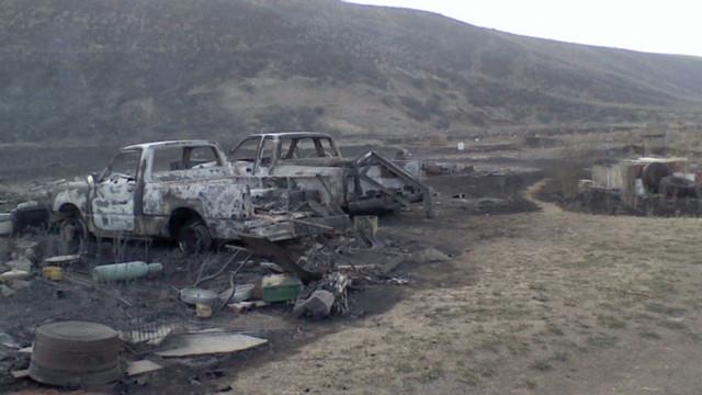 tsr dnt simon fire victim returns home_00011701