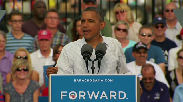 Obama: Romney's vision is wrong