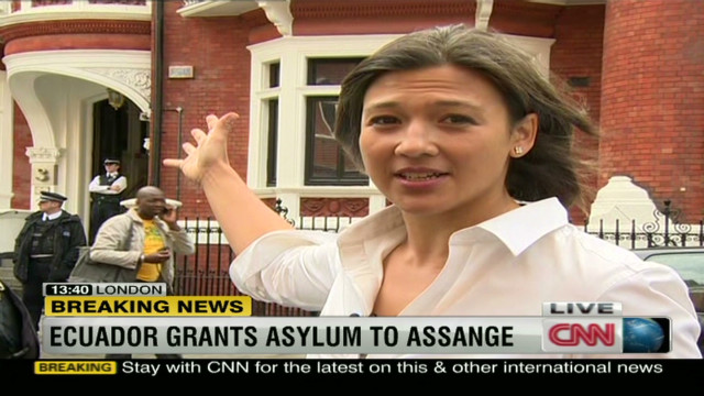 Assange granted asylum in Ecuador