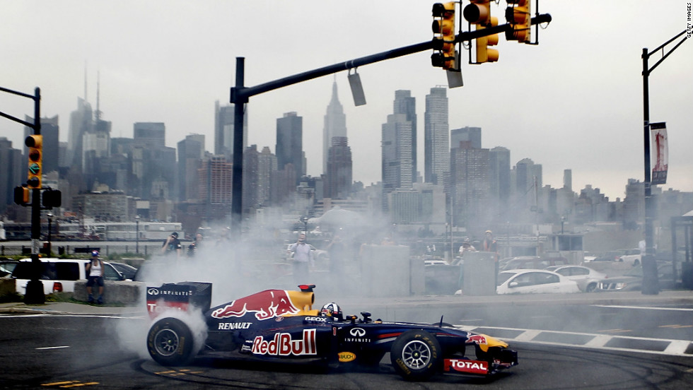 The grand prix, which will not be held in 2014 either due to funding problems, was supposed to run through the New Jersey township of Weehawken.