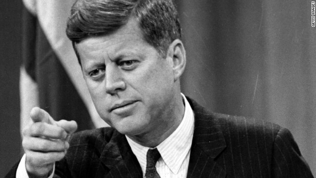 John F. Kennedy was known for his wit and one-liners, often used self-deprecatingly.