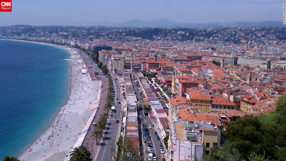 "Urmi Guha spent <a href=""http://ireport.cnn.com/docs/DOC-826963"">three days on the French Riviera</a> during a 10-day anniversary trip. ""All three days were very bright and sunny, a nice change after Paris. It also was very relaxing after the hectic sightseeing in Paris,"" Guha writes."