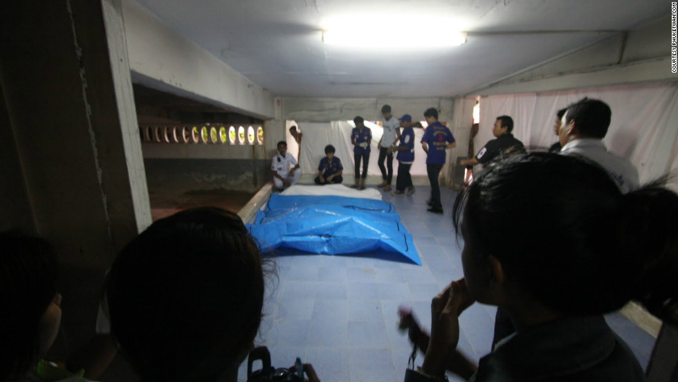 "The four victims' bodies were burnt beyond recognition. Police aren't even sure whether they were male or female. Forensic officers were due to arrive Friday to try to determine their identity. Photo courtesy of <a href=""http://phuketwan.com/"" target=""_blank"">Phuketwan.com</a>"