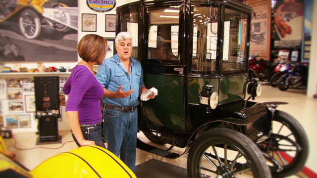 Talking cars with Jay Leno