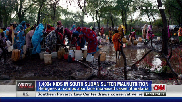 South Sudan refugee camp overwhelmed