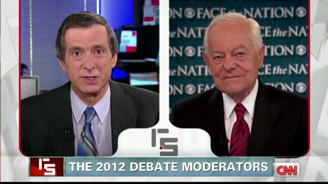 The 2012 debate moderators