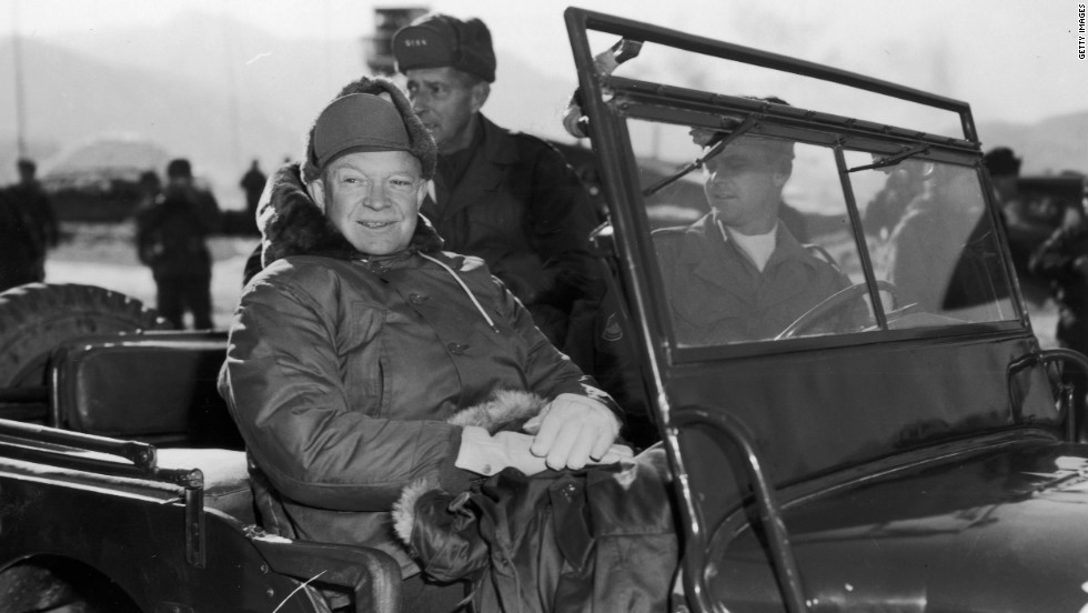 "Dwight Eisenhower, the 34th president, switched to a health-conscious <a href=""http://www.health.harvard.edu/newsletter_article/Heart_Beat_On_the_links_to_recovery"" target=""_blank"">low-fat diet</a> after suffering a heart attack in 1955."