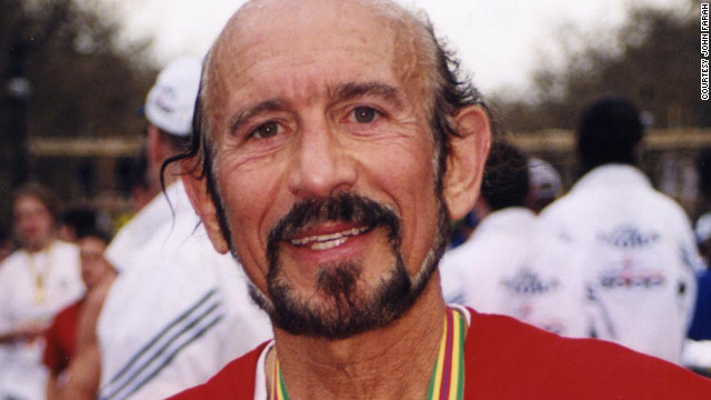 John Farah has run in 123 marathons.