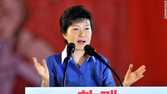 S. Korea taps woman for presidential bid