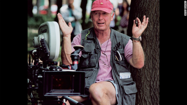 British-born director Tony Scott on the set of his film 'Man On Fire' in Mexico City, 2003. (Photo by Juergen Vollmer/Redferns/Getty Images)