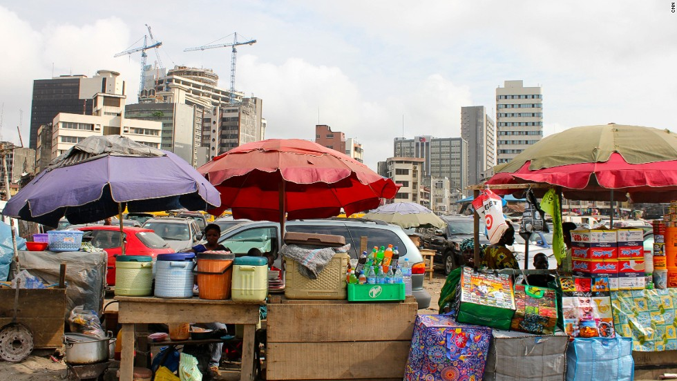 Lagos is Nigeria's commercial capital and economic nerve center with a population of some 15 million people.