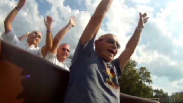 2012: Man, 80, rides roller coaster 80 times