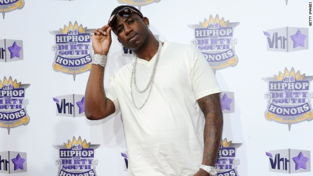 Rapper Gucci Mane is a convicted felon and is barred from carrying a gun.