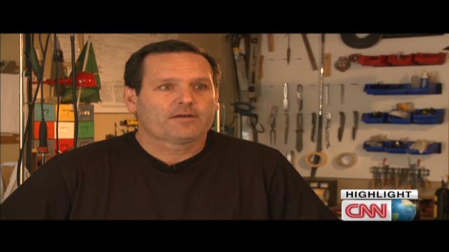 Professional golfer turned knife maker