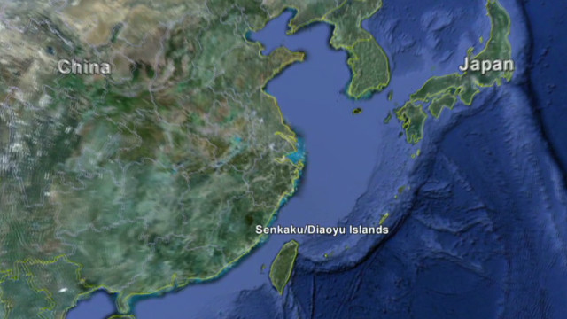 U.S. in middle of China-Japan island flap