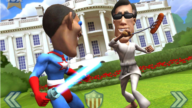 Political gamers can duke it out between President Barack Obama and Mitt Romney.