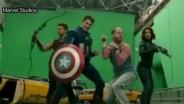 2012: 'Avengers' gag reel released