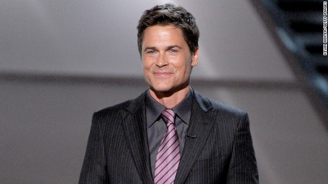 Rob Lowe has seemingly recovered from his bad-boy past - notibly a leaked sex tape with him and a 16-year-old girl.