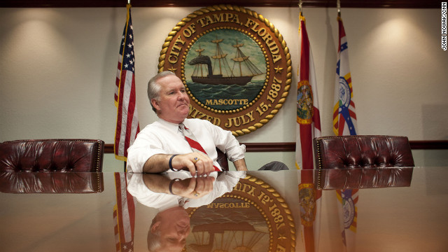 Tampa Mayor Bob Buckhorn says he doesn't expect police raids at strip clubs during the RNC.