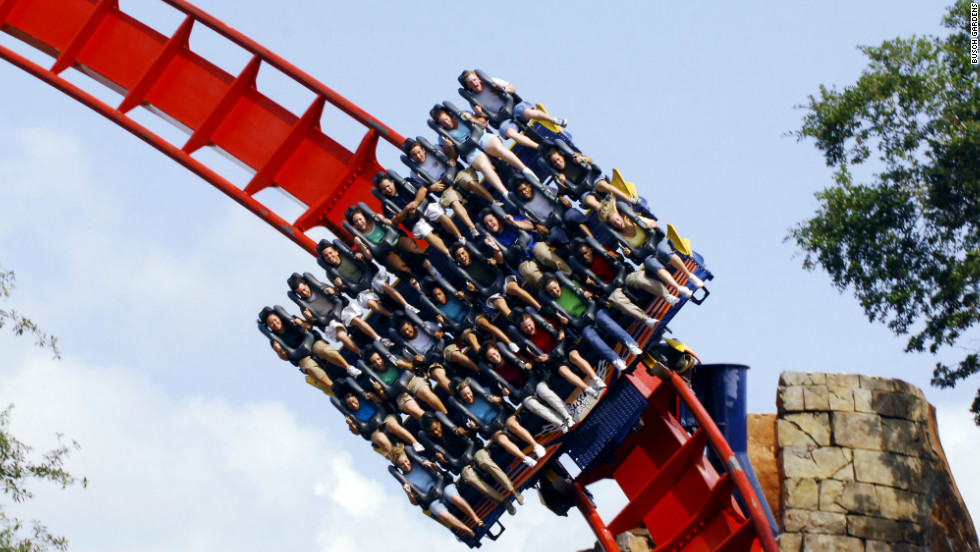 """Spend the day in Tampa at the African-themed Busch Gardens Tampa Bay screaming your lungs bloody aboard the roller coaster SheiKra,"" says Jeff Houck."