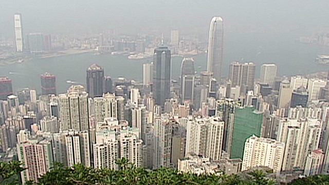 Sky-high rents in Hong Kong