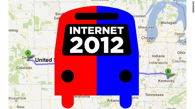 Reddit's co-founder and others will use an Internet 2012 Bus Tour to raise awareness about Web issues during the campaign.