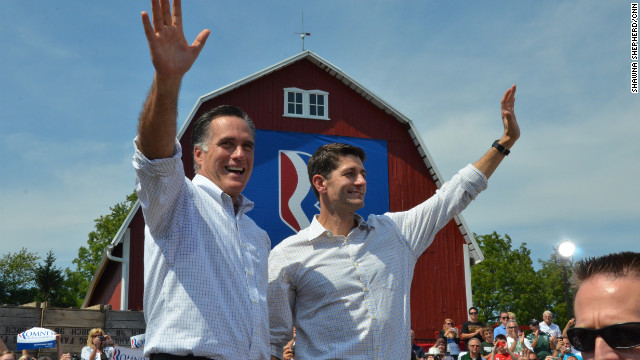 Romney and Ryan: 'A generation apart'