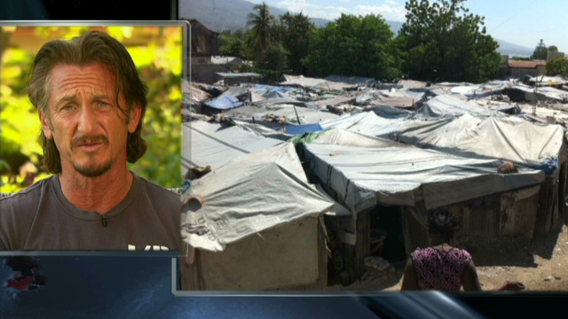 Sean Penn talks about risk for Haiti