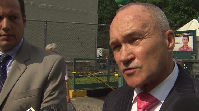 NYPD commissioner: Victims hit by police