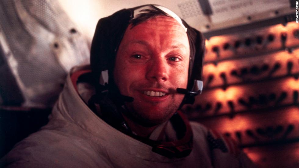 "<a href=""http://www.cnn.com/2012/08/25/us/neil-armstrong-obit/index.html"" target=""_blank"">Neil Armstrong</a>, the American astronaut who made ""one giant leap for mankind"" when he became the first man to walk on the moon, died August 25. He was 82."