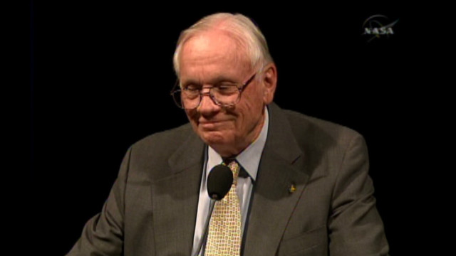 2009: Hear from Neil Armstrong