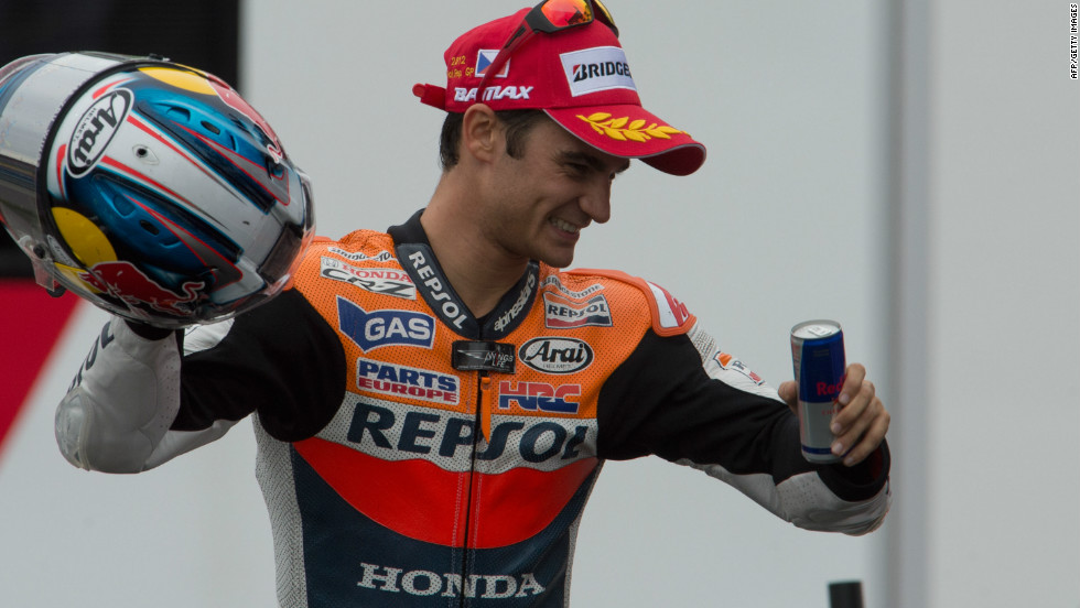 Marquez's Repsol Honda Team teammate, Dani Pedrosa, will also be hoping to usurp last year's champion, despite being in the same stable. The 28-year-old, who finished third last season, is MotoGP's nearly man having consistently placed in the top five since his debut campaign in 2006, but is yet to have secured the coveted top spot.