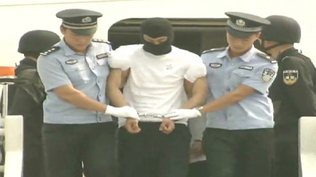 Chinese crime suspects deported