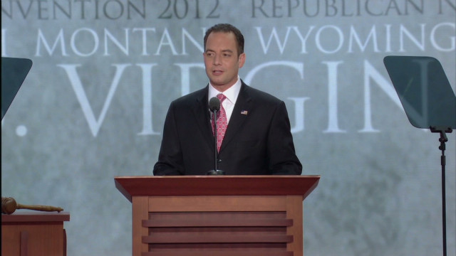 Priebus opens RNC in Tampa