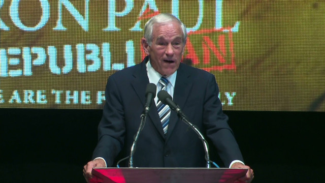 Rep. Ron Paul:  'You have an obligation'
