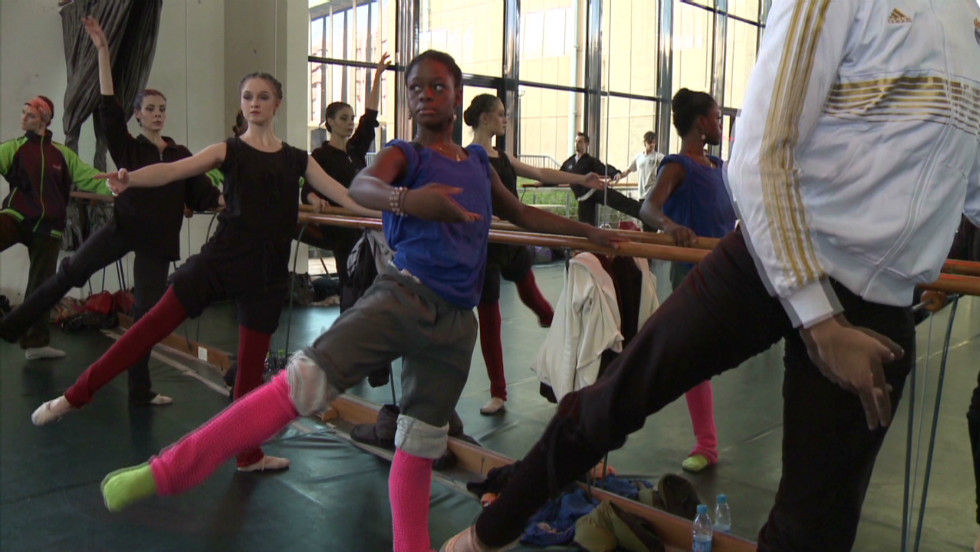 "The young ballerina says she has had to work even harder to get accepted as a black dancer into the rarefied world of ballet. ""I'm still trying to change the way people see black dancers that we can become delicate dancers, that we can be a ballerina,"" she says."