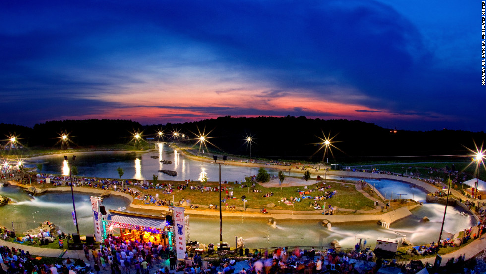 "The <a href=""http://usnwc.org/"" target=""_blank"">U.S. National Whitewater Center</a> offers more than 400 acres of outdoor action, including ziplines, kayaking, rafting, mountain biking and rock climbing. It played host to the 2012 U.S. Olympic trials for canoe slalom."