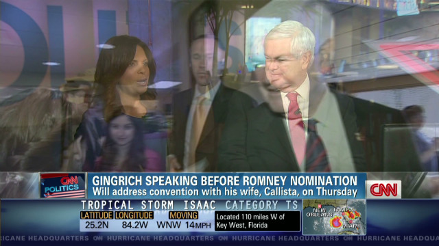 Gingrich: Ron Paul won't embarrass son