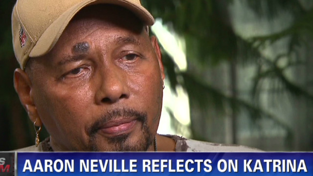 Aaron Neville reflects on Katrina