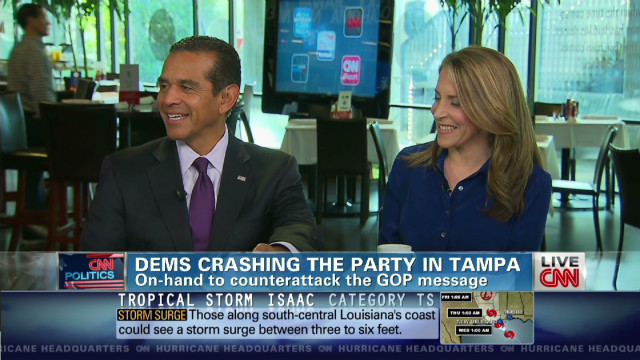 Dems crashing the party in Tampa