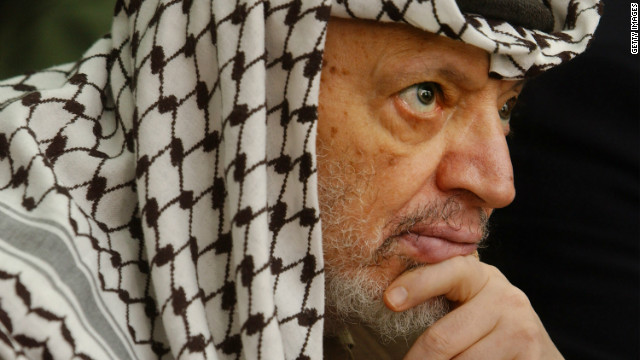 Arafat's body exhumed in death probe