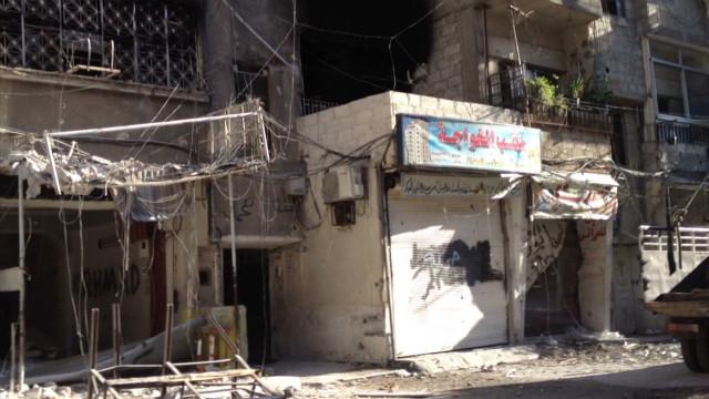 Damascus activists struggle to survive