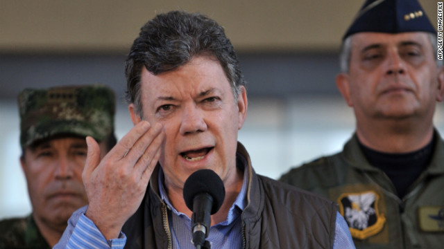 "Colombian President Juan Manuel Santos is conducting ""exploratory talks"" with the Revolutionary Armed Forces of Colombia, or FARC."
