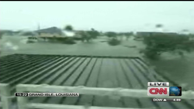 Isaac flooding surrounds homes