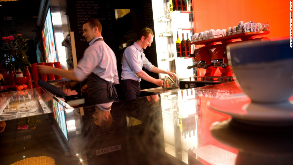 There's great food to be sampled at Vue de Monde on Collins Street and elsewhere in the city.